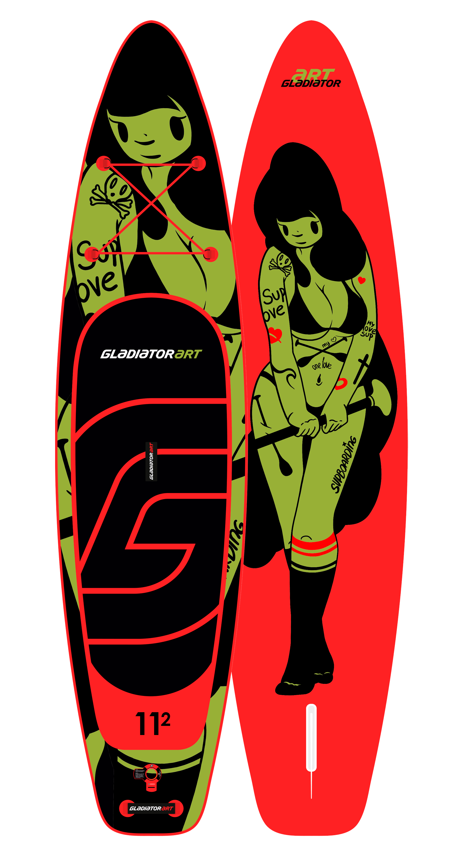 SUP-board TATTOO 11.2