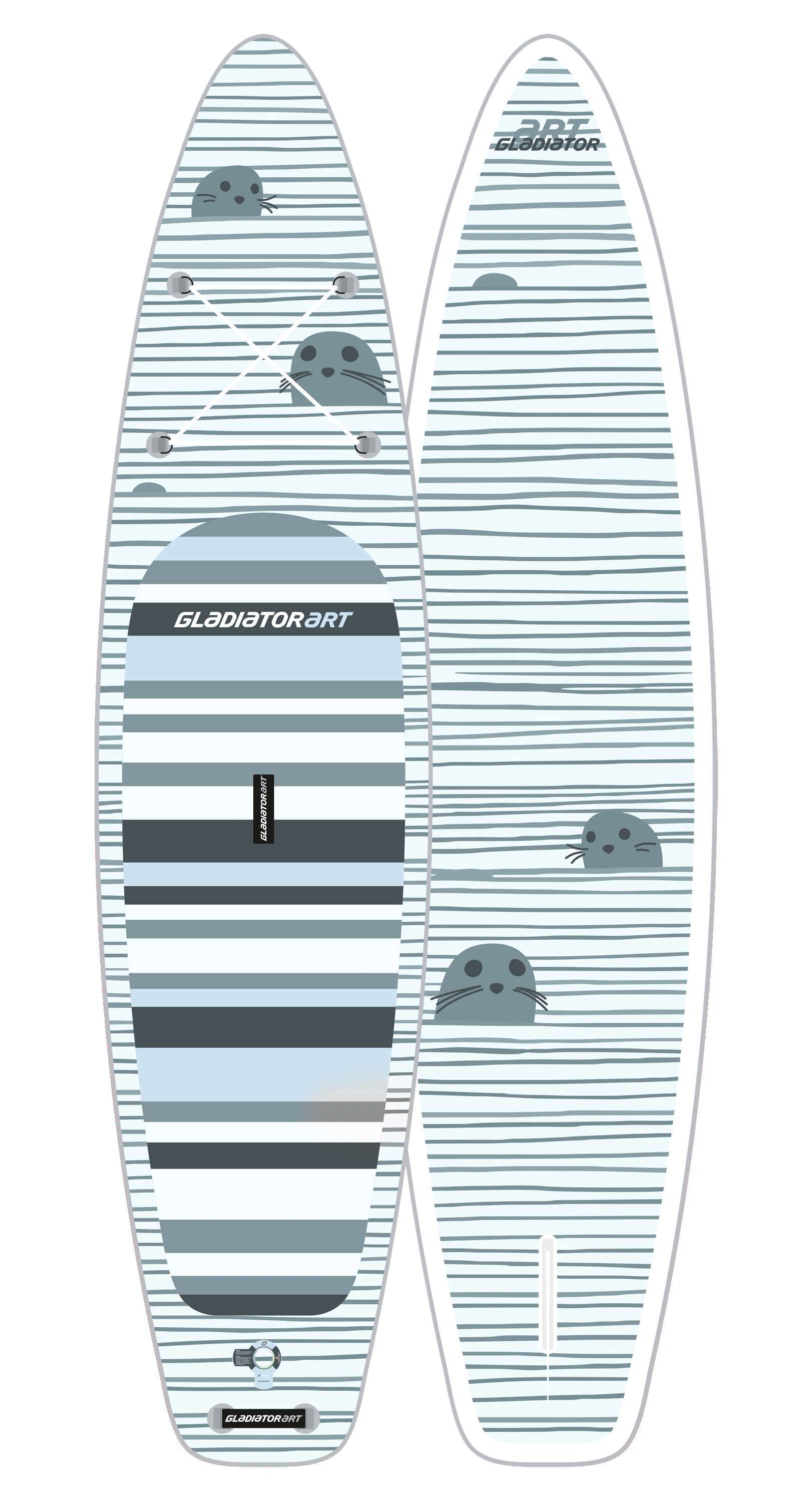 SUP-доска SEAL 12,6