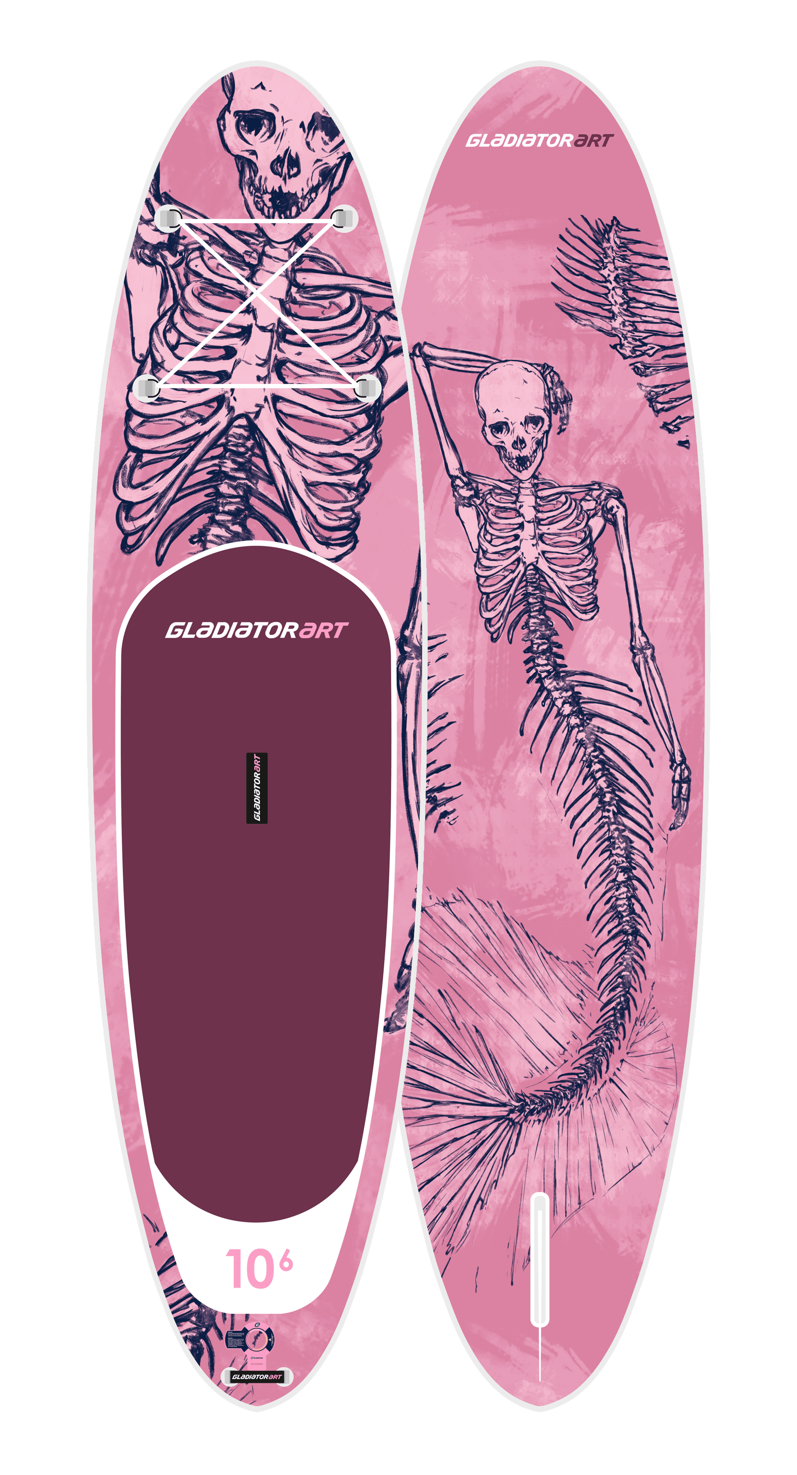 SUP-board MERMAID 10.6