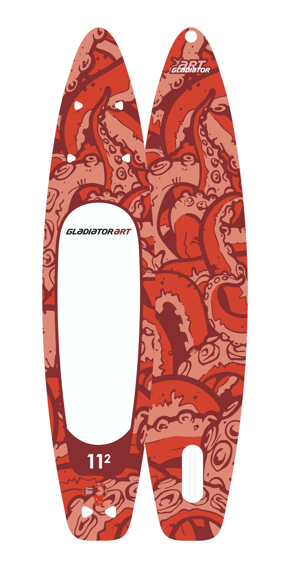 SUP-board OCTOPUS 11.2