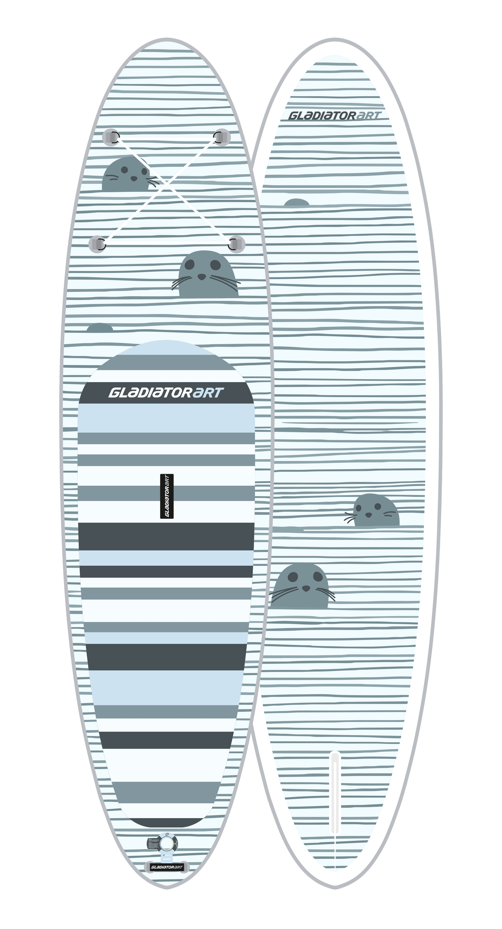 SUP-board SEAL 10.6