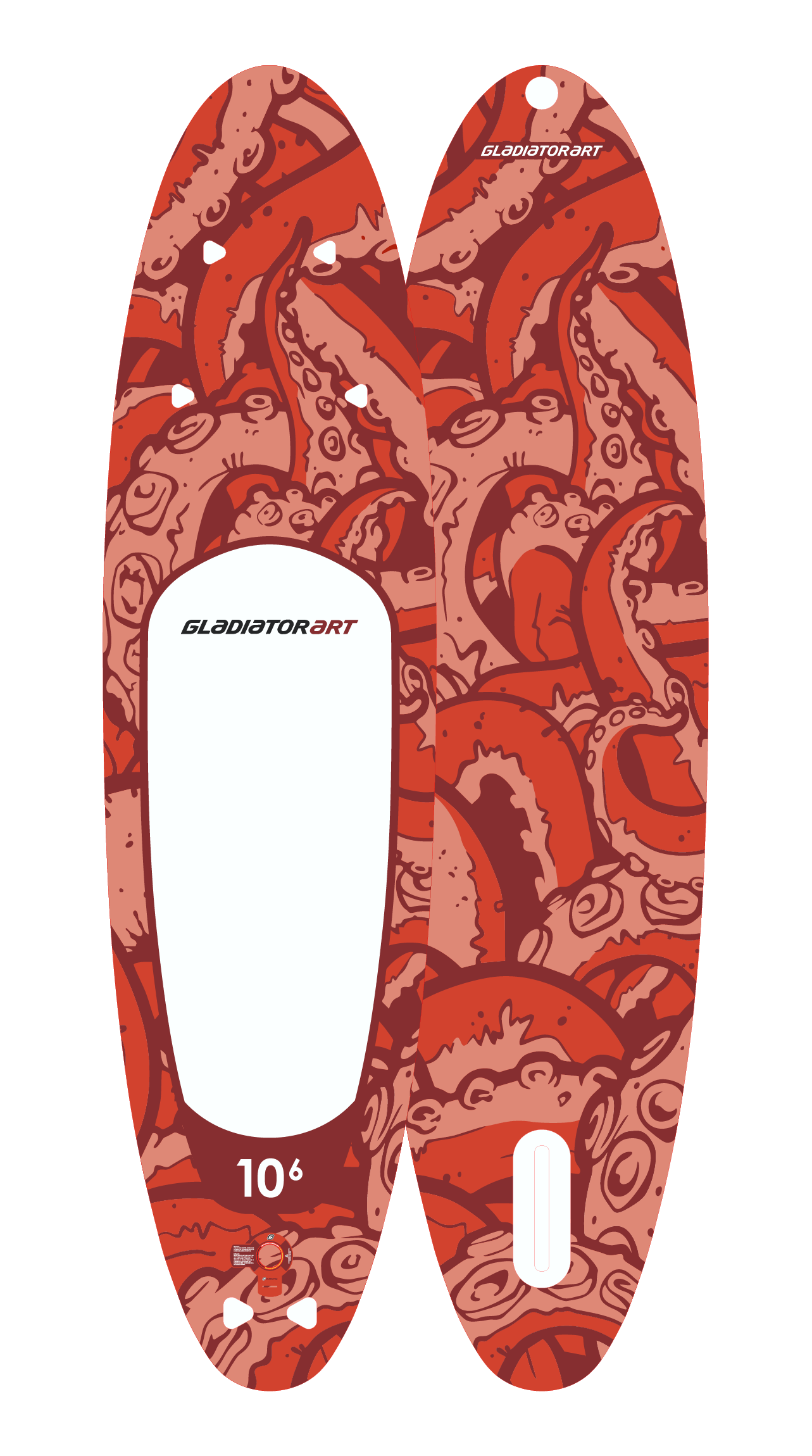 SUP-board OCTOPUS 10,6