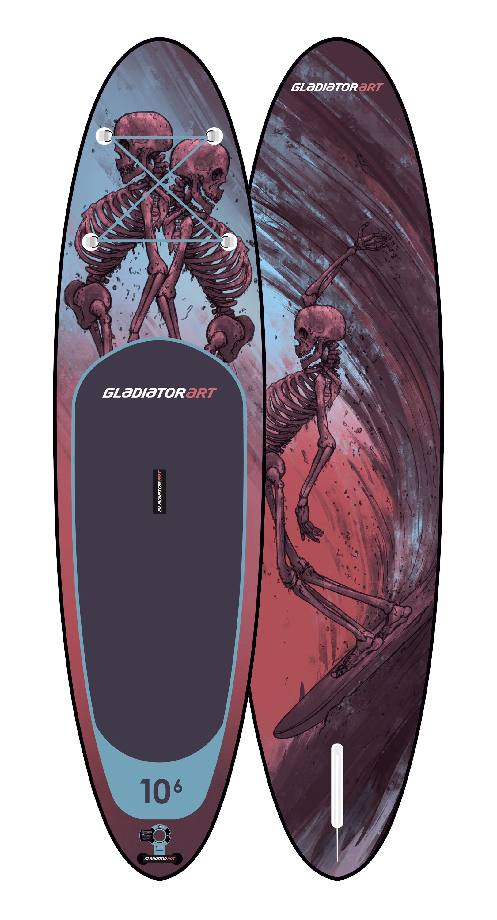 SUP-board RIDE 10.6